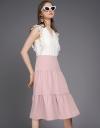 Color Block A-Line Dress