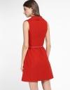 V-Neck A-Line Dress With Pockets