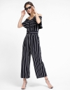 Wide-Leg Printed Jumpsuit