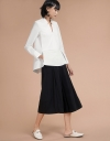 Long Sleeved Shirt With Asymmetric Hem