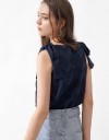 Strappy Geometric Relaxed Top