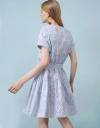 Fil Coupé Shirt Dress