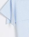 Drape Striped Top