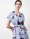 Wrap Tunic Midi Dress