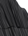 Contrast Pleated Layer Dress