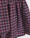 Long Sleeve Checks Shirt Dress