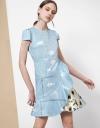 Digital Print A-line Dress