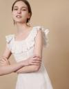 Multi-Tier Frill Maxi Dress