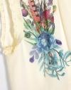 Placement Print Floral Top