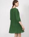 Pleated Crinkle Tier Dress