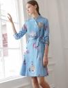 LIMITED EDITION Long Sleeve Cheongsam Wrap Dress