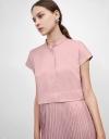 Maxi Shirt Dress with Pleats