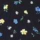Black & Blue Florals(A08358)